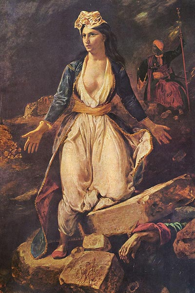 یونان بر روی خرابههای میسولونگی