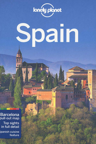 کتاب راهنمای لونلی پلنت اسپانیا