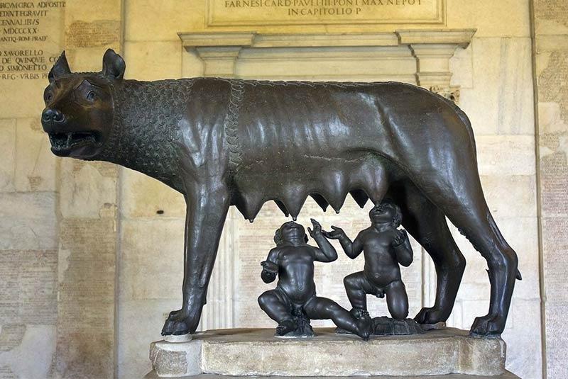 تاریخ شکلگیری شهر رم