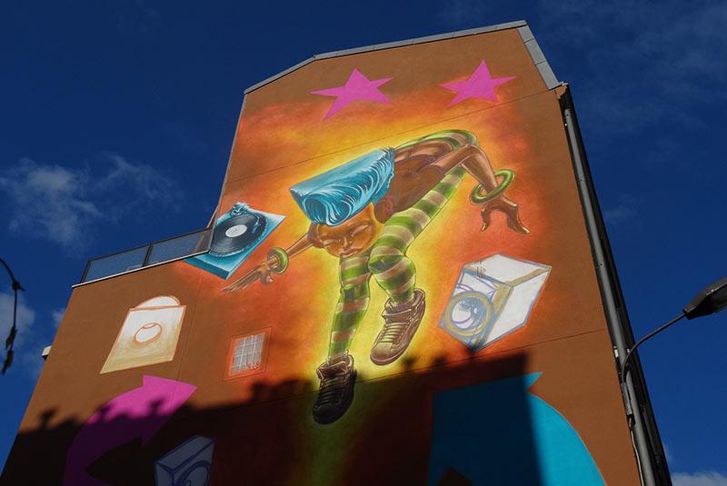 هنر خیابانی بلوار ویلت