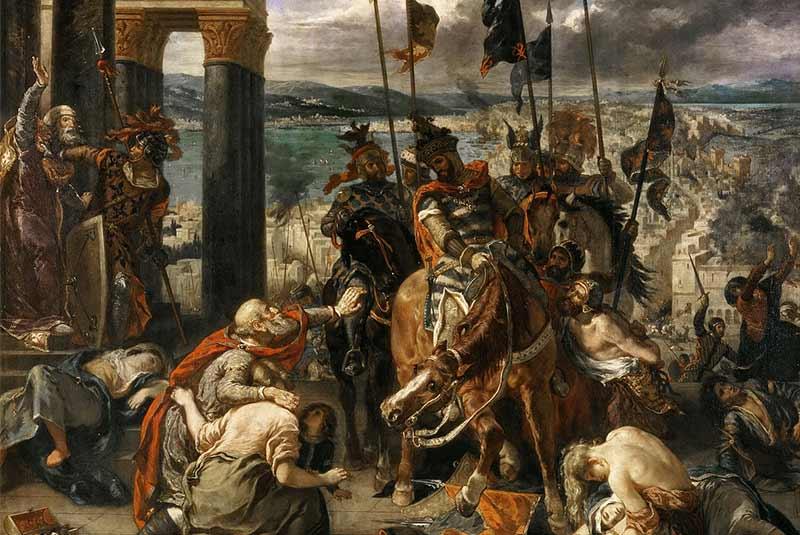 ورود صلیبیون به قسطنطنیه