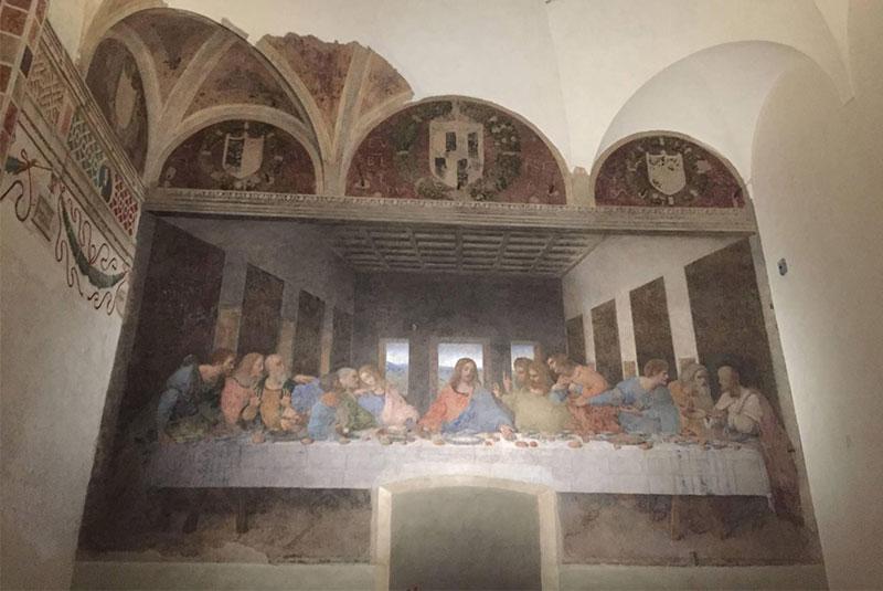 شام آخر مسیح - داوینچی