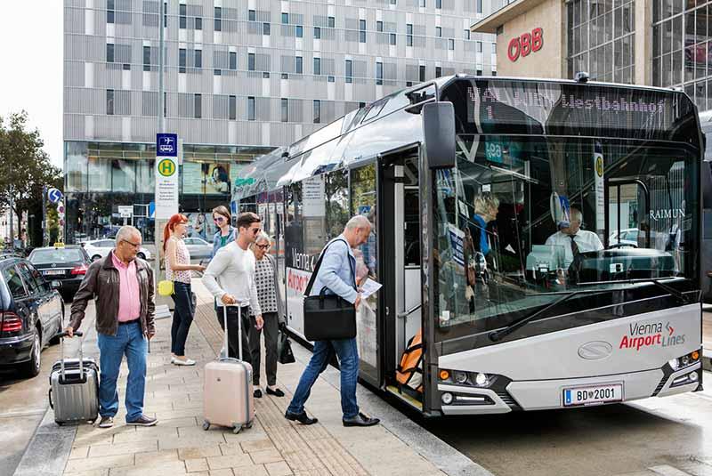 اتوبوس های وین