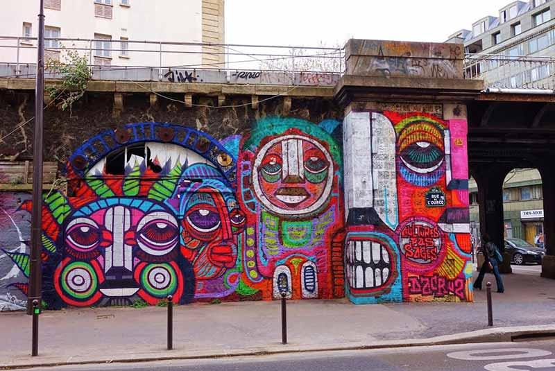آشنایی با هنر خیابانی پاریس