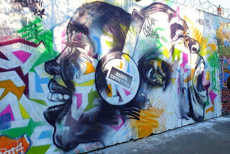 دیوارنگاری های خیابان اردنر پاریس