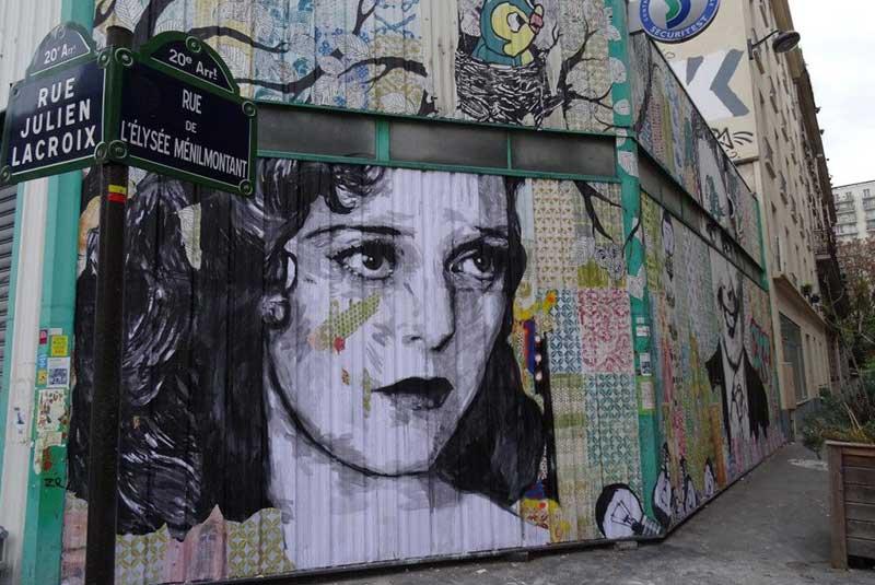 دیوارنگاری های محله های پاریس