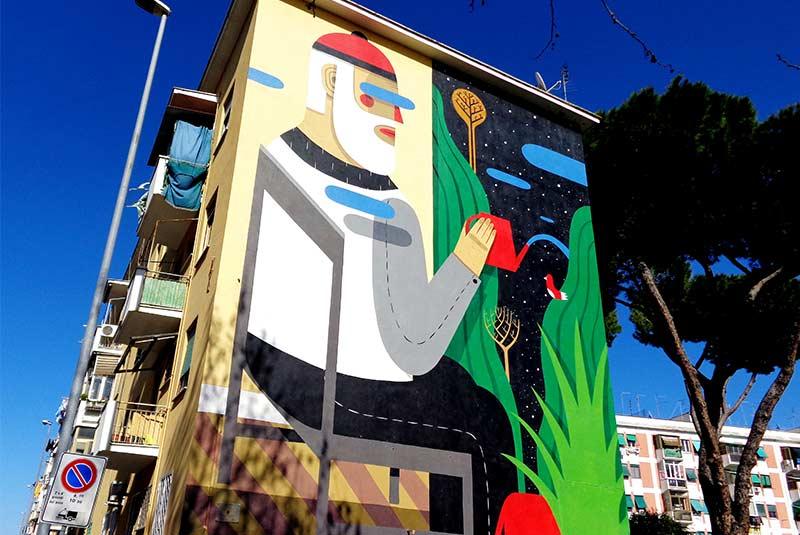هنر خیابانی محله سن باسیلیو