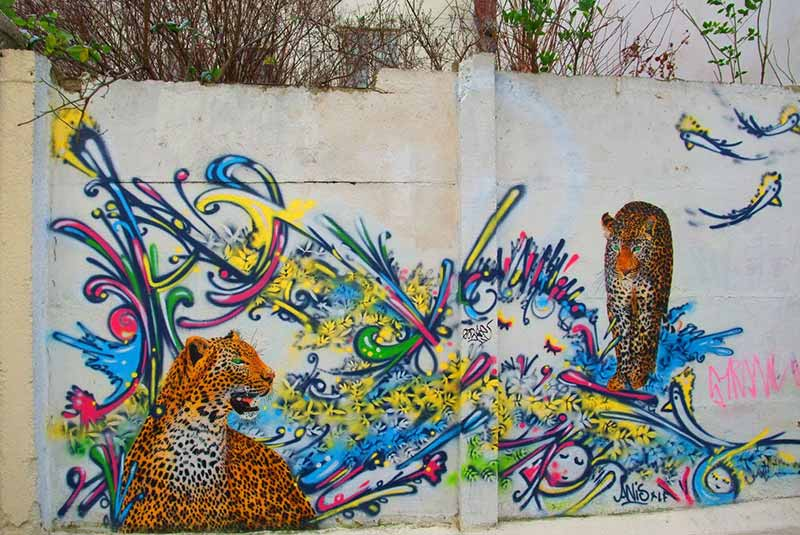 دیوارنگاری خیابان لورنس ساوار