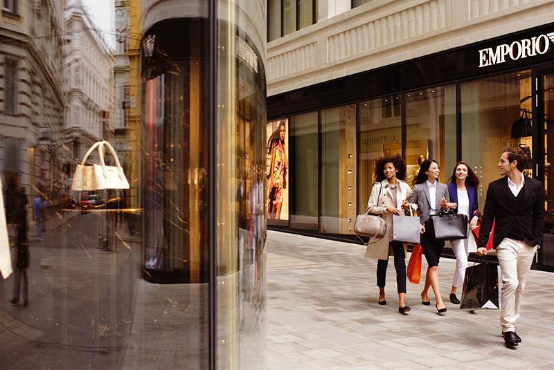 خرید در وین