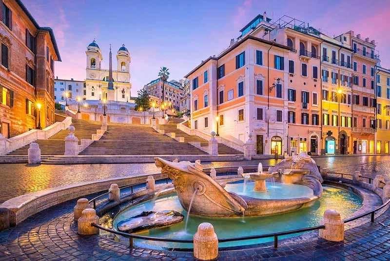 کاملترین راهنمای سفر به رم