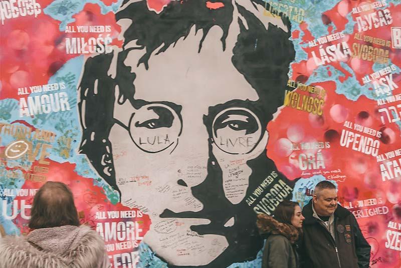 دیوار جان لنون - پراگ