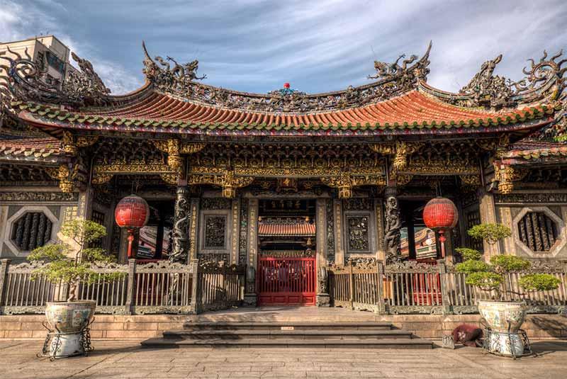 معبد لونگشان - تایپه