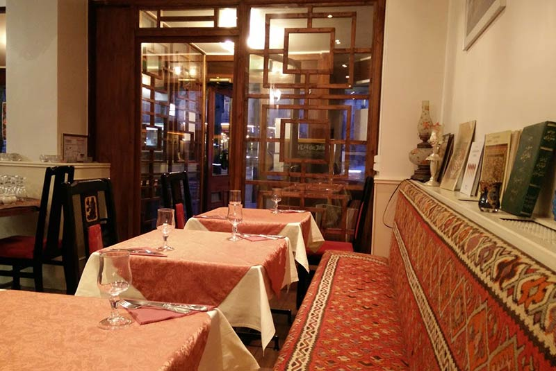 رستوران شالیزار - پاریس