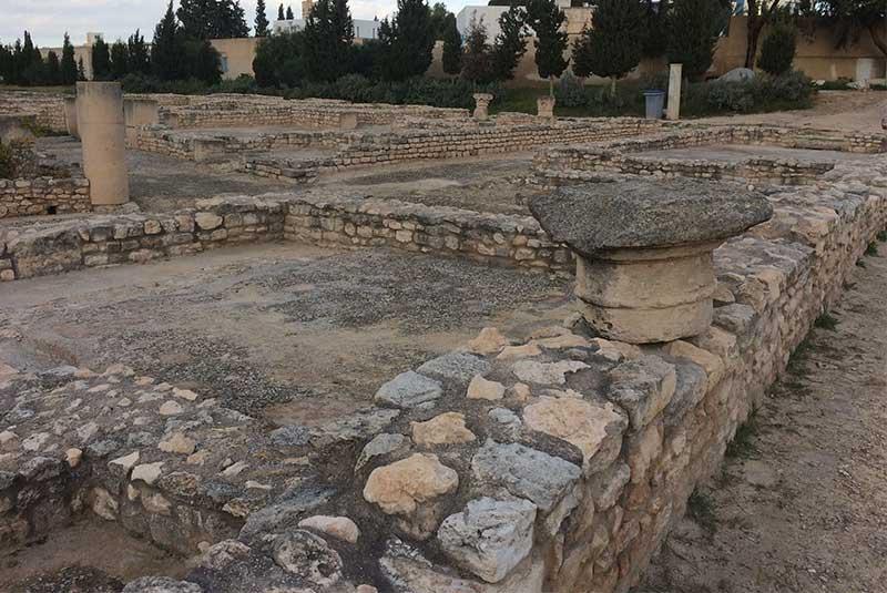 محوطه باستان شناسی الجم - تونس