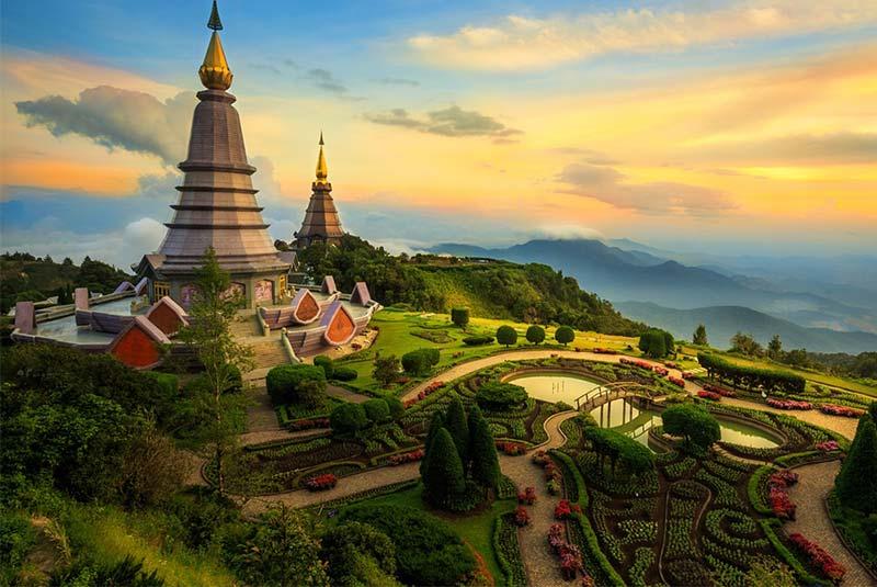 شهرهای تایلند شمالی