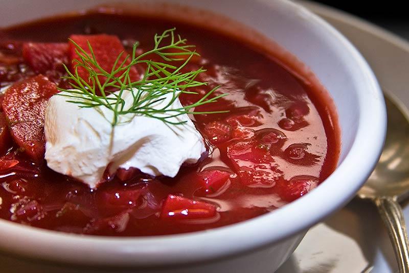 سوپ برش - غذای اوکراینی