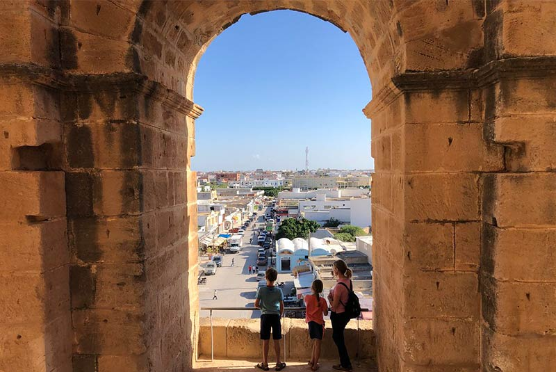 جاذبه های الجم - تونس