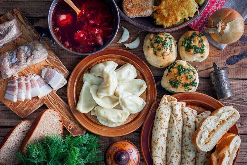 غذاهای اوکراینی