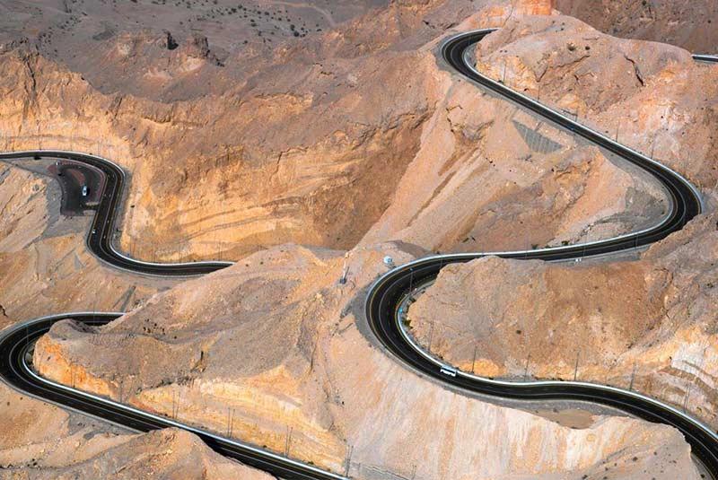 کوه حفیت - ابوظبی