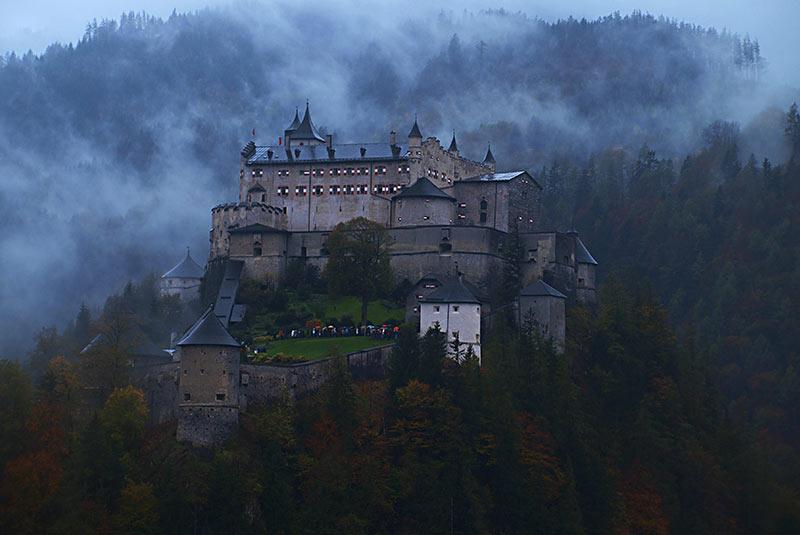 قلعه هوهن ورفن - سالزبورگ