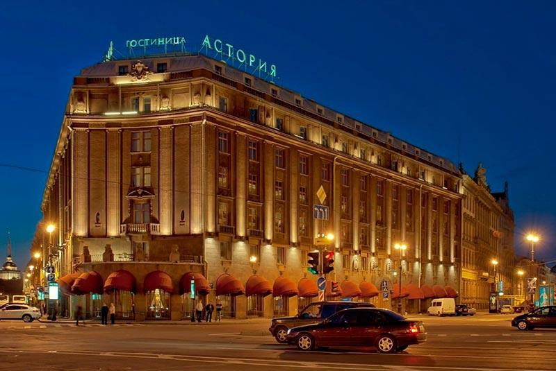 لوکس ترین هتل های سن پترزبورگ
