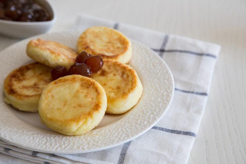 سیرنیکی - غذای اوکراینی