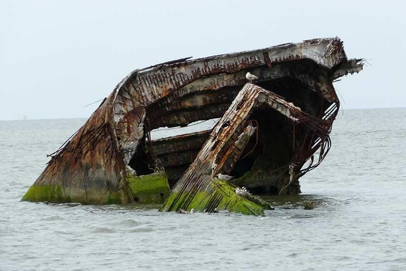 کشتی غرق شده سن پاسکال - کوبا