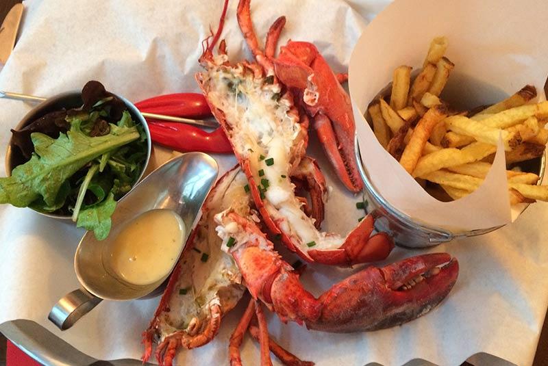 رستوران دریایی لپنس - پاریس