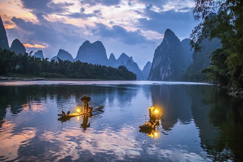 زیباترین رودخانه های چین
