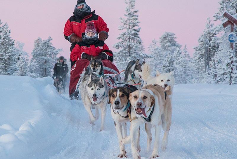 سورتمه سواری در اسکاندیناوی
