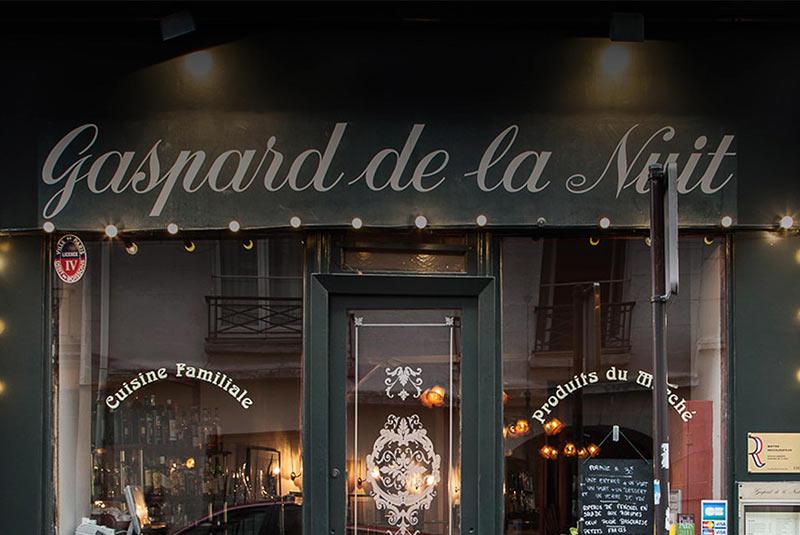 رستوران دریایی گاسپار دو لانویی - پاریس
