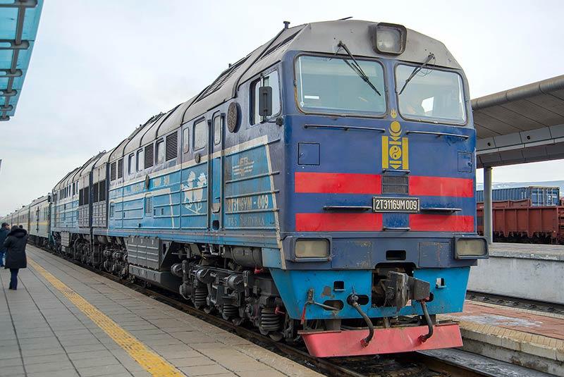 راه آهن سراسری مغولستان
