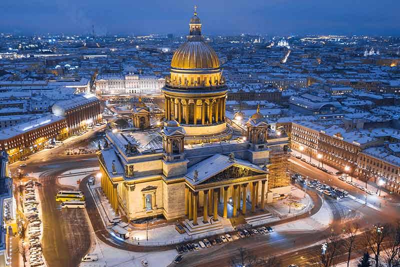 سنت پترزبورگ - پتروگراد - لنینگراد
