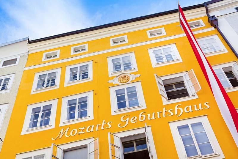 محل تولد موتزارت - سالزبورگ