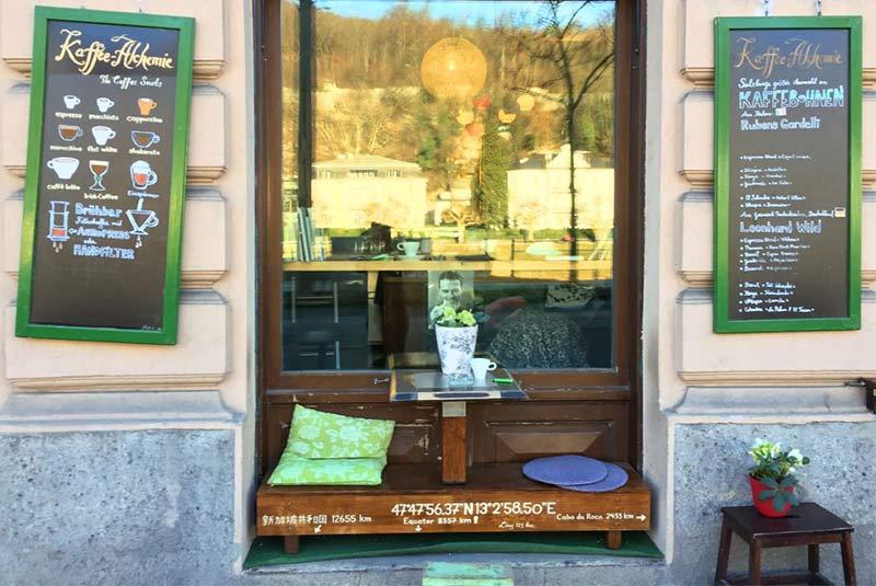 کافه آلکمی - سالزبورگ