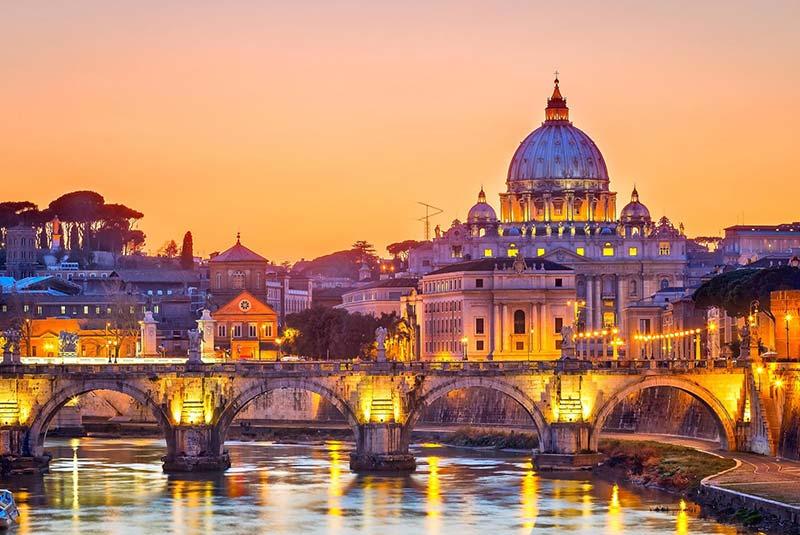 در خانه به ایتالیا سفر کنیم