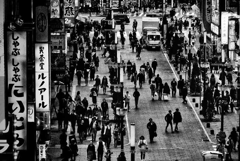 مروری بر توکیو با عکس های دایدو موریاما