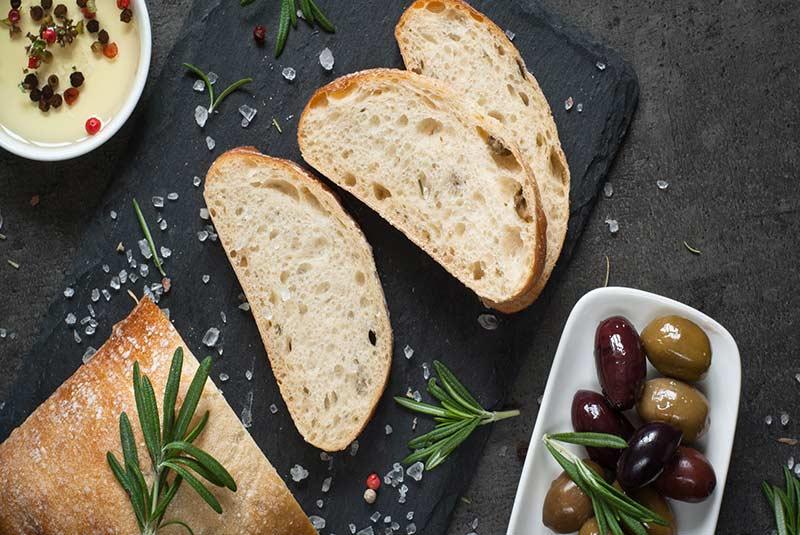 نان چاباتا