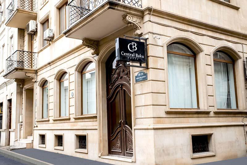 هتل سنترال باکو