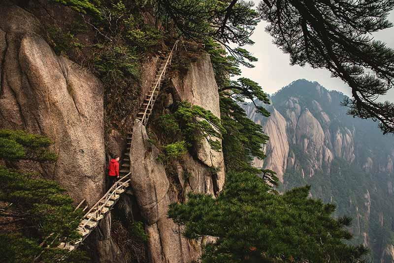 کوه هوانگشان، چین