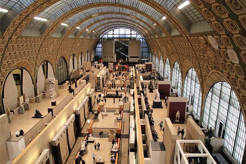 تور مجازی موزه اورسی پاریس