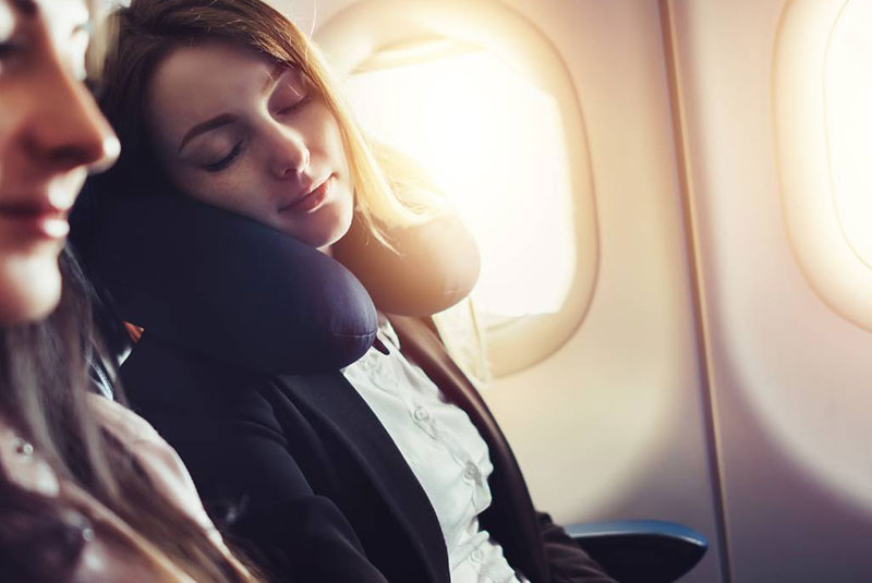 داشتن خواب خوب در سفر