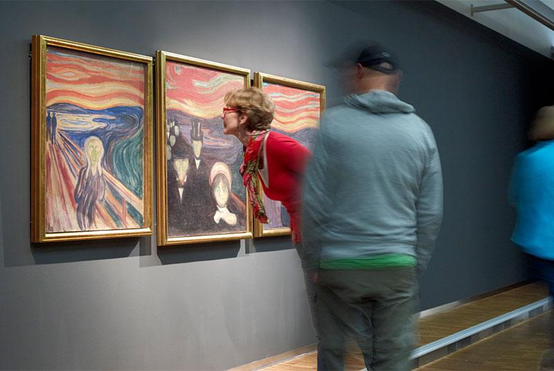 تابلوی جیغ اثر مونک