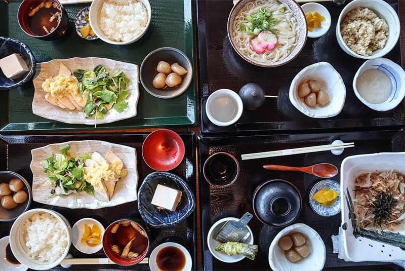 غذاهای محلی ژاپنی در توکیو