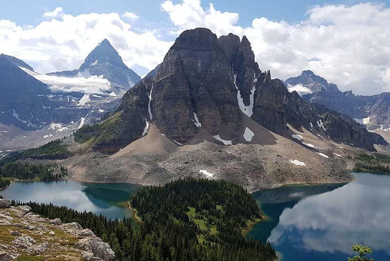 کوه آسینیبوان - بریتیش کلمبیا - کانادا