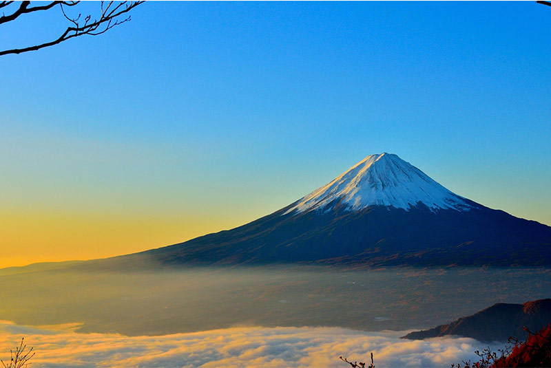 کوه فوجی - ژاپن