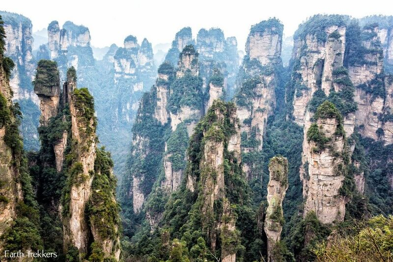 پارک ملی و جنگلی ژانگجیاجی، چین – فیلم آواتار (۲۰۱۰)