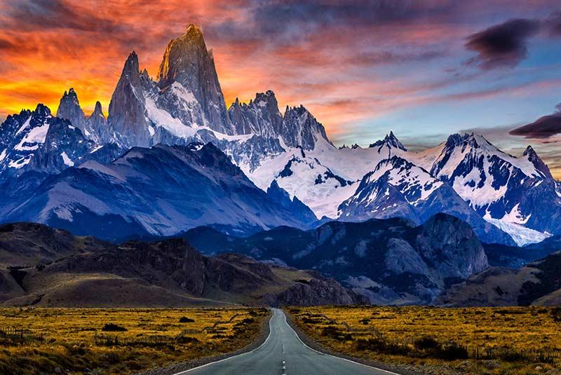 کوه سرو توره - مرز شیلی و آرژانتین