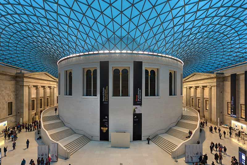 تور مجازی موزه بریتانیا - لندن