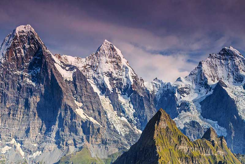 کوه ایگر، سوئیس